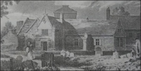 Beverley Grammar School ca. 1775 (Lithograph by R. Martin, courtesy of Beverley Grammar School)